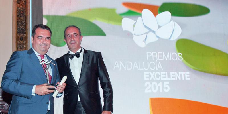 Magtel ha sido galardonada con el Premio Andalucía Excelente 2015
