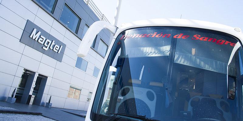 24 profesionales de Magtel en Córdoba atendieron a la llamada del Bus de la Donación de Sangre