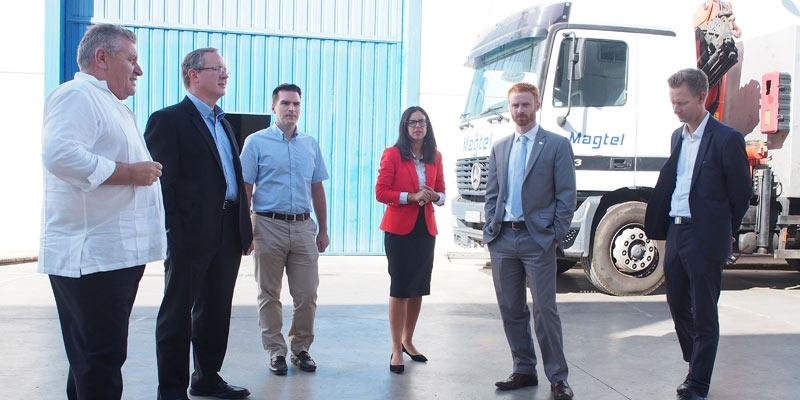 Magtel y Charlotte Regional Partnership mantienen un encuentro para analizar posibles vías de colaboración